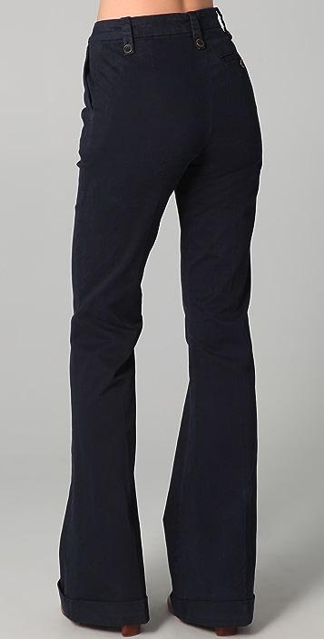 J Brand Stella Wide Leg Pants