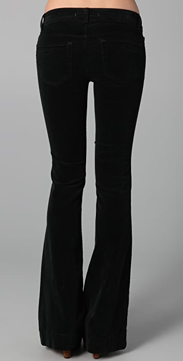 J Brand Lovestory Corduroy Flare Pants