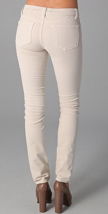 J Brand Corduroy 612 Pencil Leg Pants