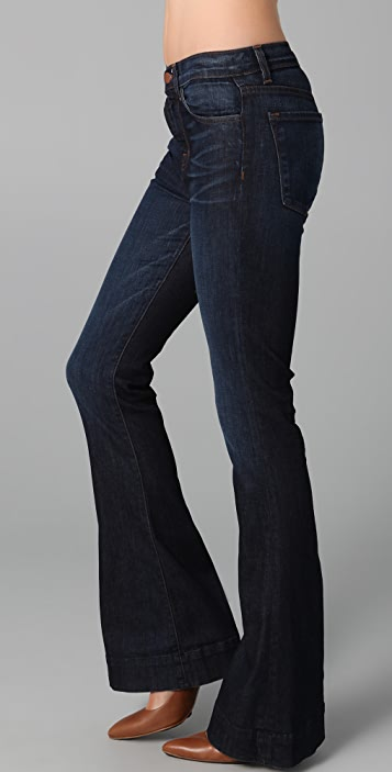 J Brand Bianca High Rise Flare Jeans