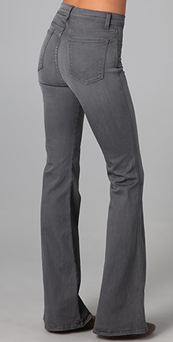 J Brand High Rise Flare Jeans