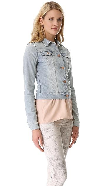 J Brand Slim Fitted Denim Jacket
