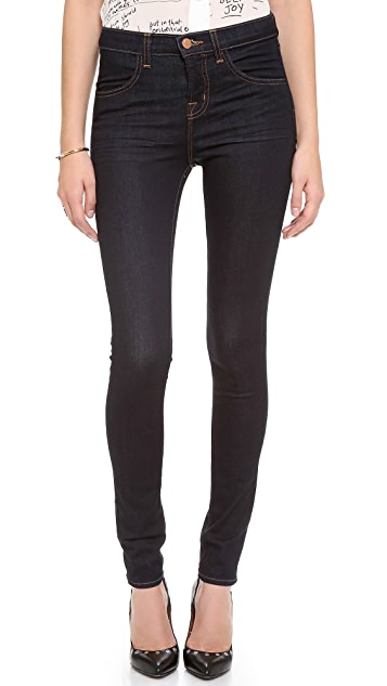 J Brand Maria High Rise Powerstretch Legging Jeans