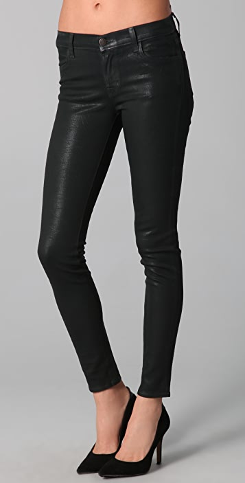54d3cde0ff8e2 J Brand Coated Super Skinny Jeans | SHOPBOP