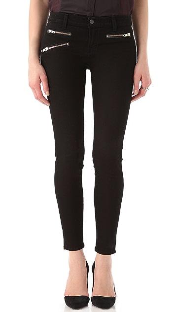 J Brand Zoey Triple Zip Skinny Jeans