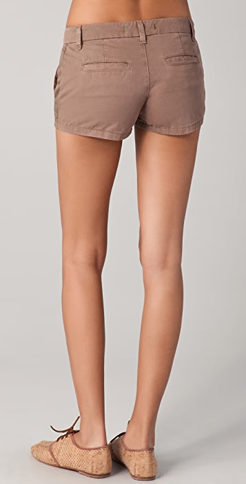 J Brand Callie Low Rise Postal Shorts