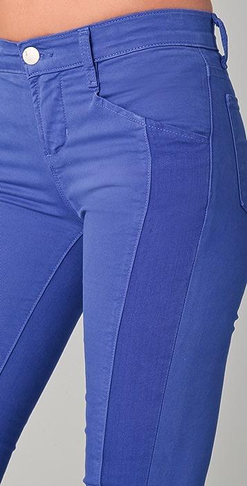 J Brand Kinsey Pieced Skinny Jeans