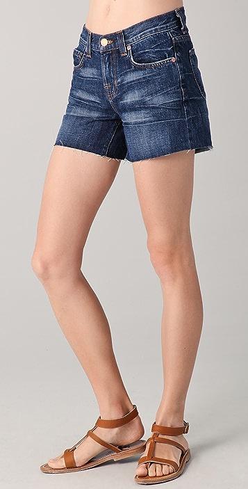 J Brand Rolled Cutoff Shorts