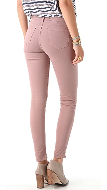 J Brand 811 Mid Rise Luxe Twill Pants