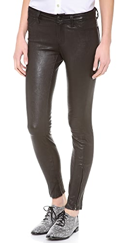 J Brand - Super Skinny Leather Pants
