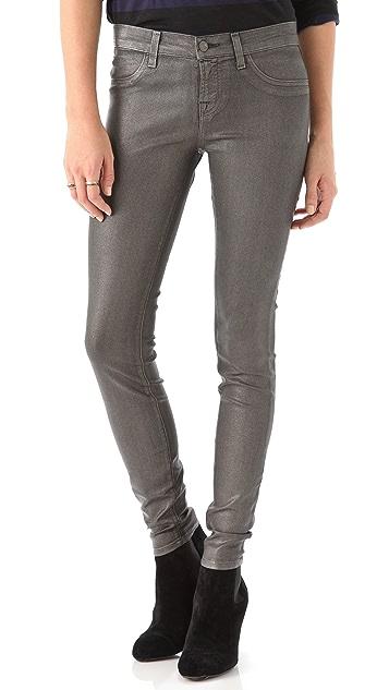 J Brand Moonwalk Coated Leggings