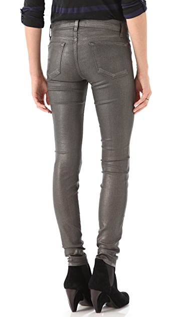 J Brand Moonwalk Coated Leggings