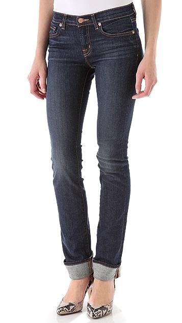 J Brand 814 Mid Rise Cigarette Jeans