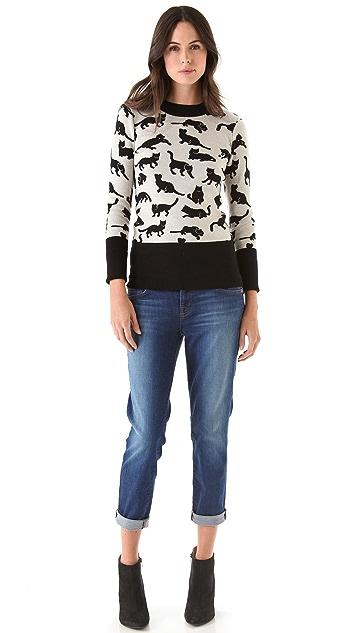 J Brand Aoki Slim Boyfriend Jeans
