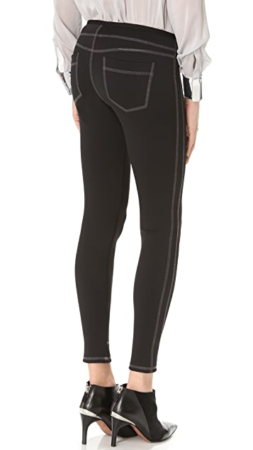 J Brand Low Rise Zip Skinny Pants