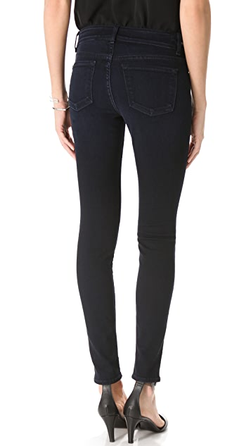 J Brand Kitty Zipper Skinny Jeans