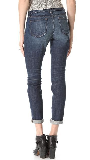 J Brand Midori Low Rise Boyfriend Jeans