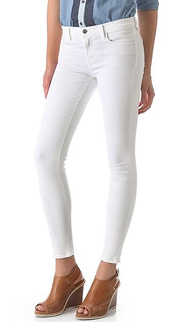 8723fc7d3c44f J Brand 620 Super Skinny Jeans with Eyelet Detail   SHOPBOP