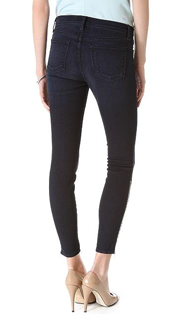J Brand Jewel Ankle Zip Skinny Jeans