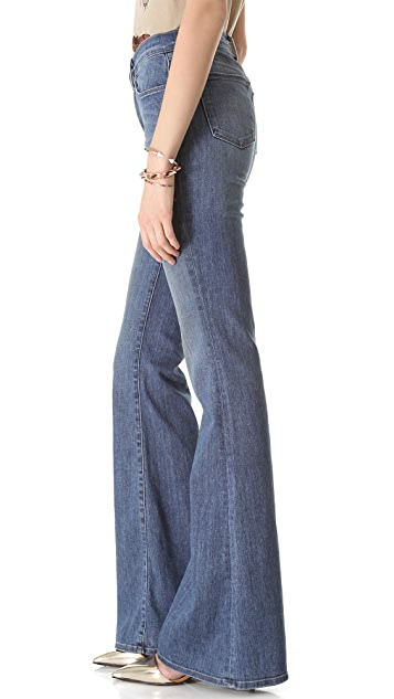 J Brand Valentina High Rise Flare Jeans