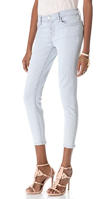 J Brand Cass Railroad Stripe Jeans