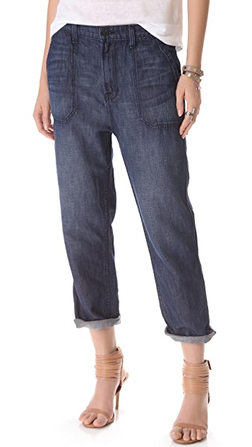 J Brand Utility Slouch Jeans