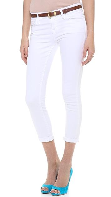 J Brand 835 Mid Rise Capri Jeans