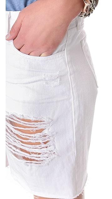 J Brand Slouchy Boy Shorts