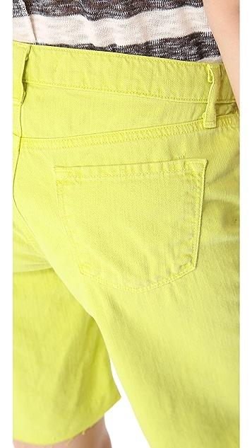 J Brand Slouchy Boyfriend Shorts