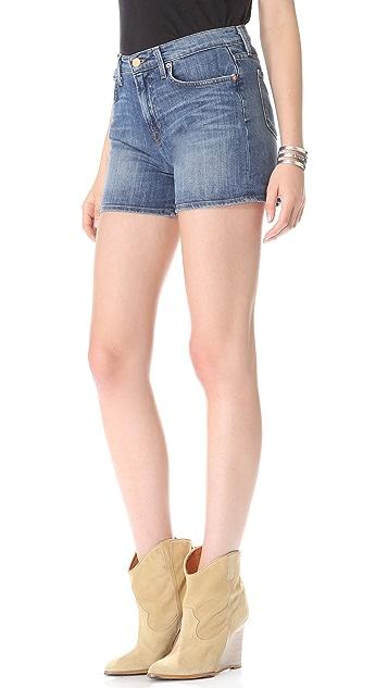 J Brand High Rise Shorts