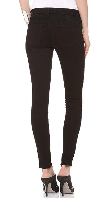 J Brand 8074 Guinevere Studded Skinny Jeans