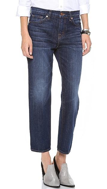 J Brand 1265 Ace Cropped Boyfriend Jeans