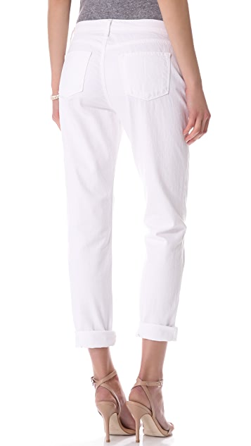 J Brand Slouchy Boyfriend Jeans