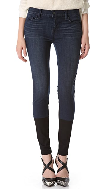 J Brand Photo Ready Stepped Hem Skinny Jeans