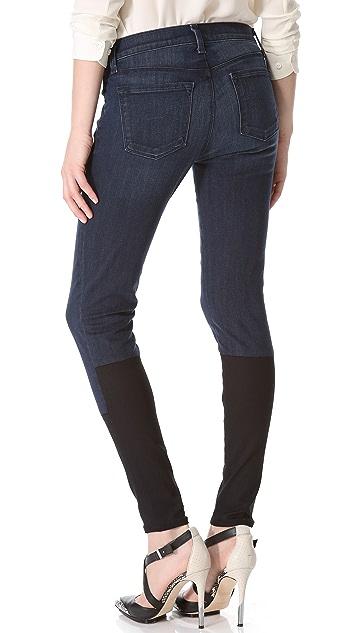 J Brand Photo Ready Stepped Hem Skinny Jeans
