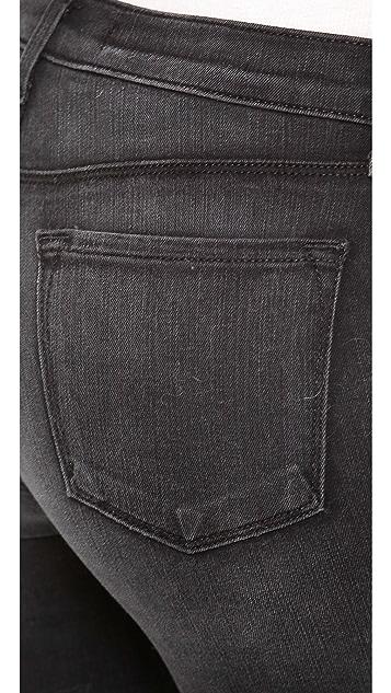 J Brand High Rise Photo Ready Rail Jeans
