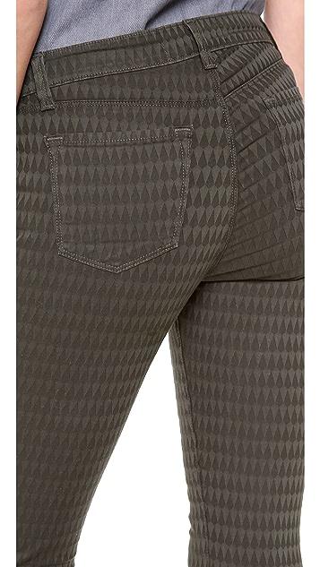 J Brand 485 Prism Jacquard Legging Jeans
