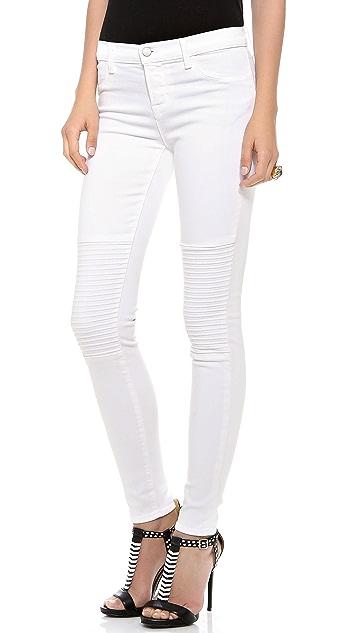J Brand 8029 Nicola Moto Jeans