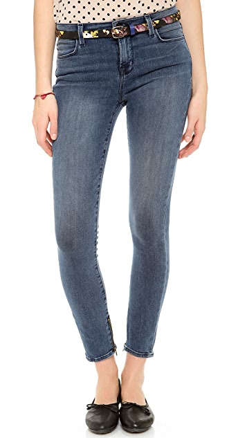 J Brand 2335 Maria Cropped Jeans