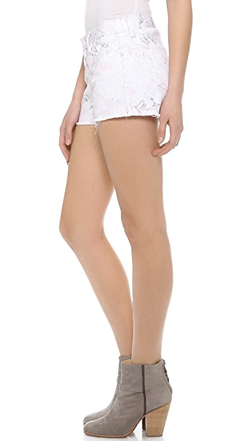 J Brand 1046 Low Rise Cut Off Shorts