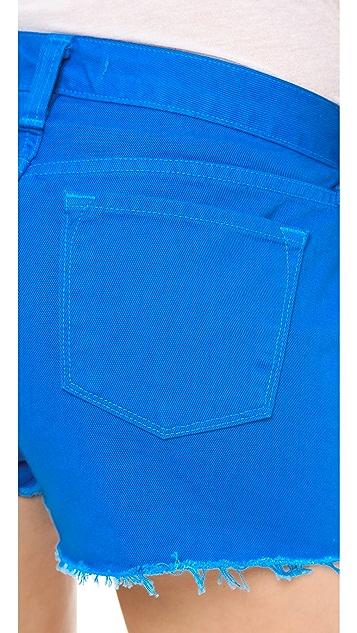 J Brand Low Rise Cutoff Shorts