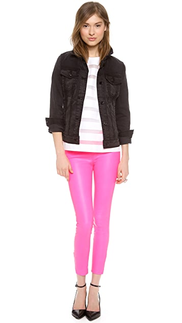 J Brand L8035 Leather Pants