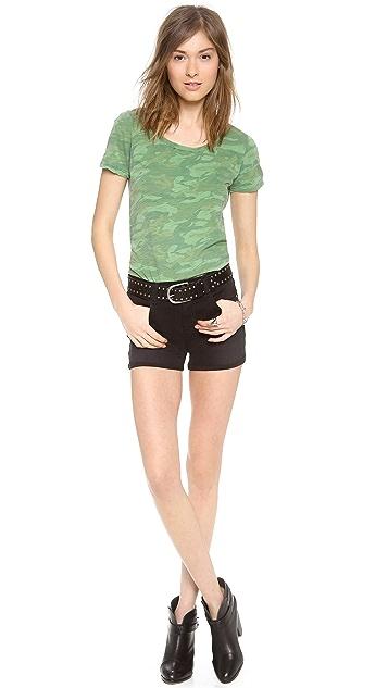 J Brand 1285 Leigh High Rise Shorts