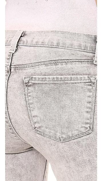 J Brand 910 Lowrise Skinny Jeans