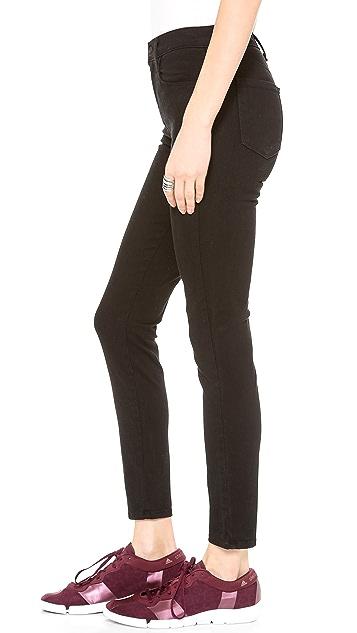 J Brand High Rise Alana Skinny Jeans