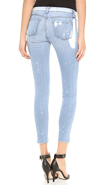 J Brand 910 Low Rise Skinny Jeans