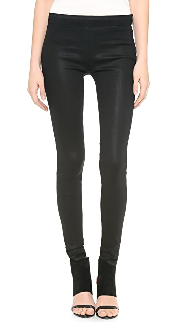 J Brand Side Zip Legging Jeans
