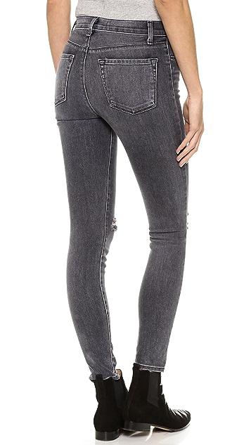 J Brand 23127 High Rise Alana Crop Jeans