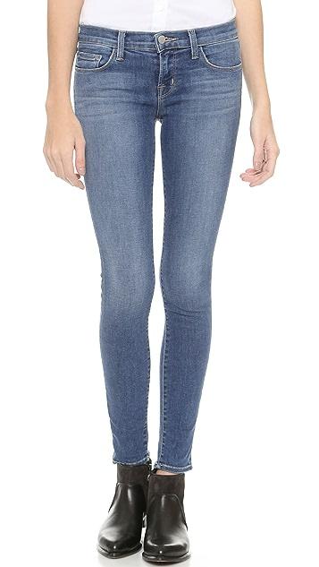 J Brand 910 Low Rise Skinny Jeans