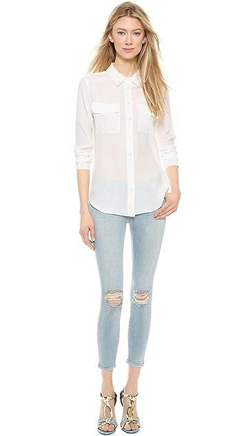 J Brand 835 Mid Rise Crop Jeans